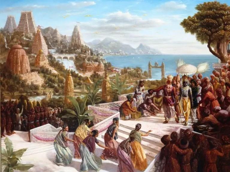 Lord-Krishna-in-Dwarka