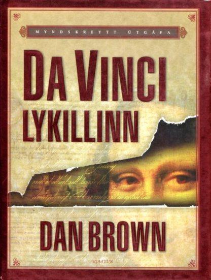 Da Vinci lykillinn Dan Brown 001