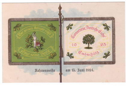 Fahnenweihe 1923