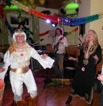 70er Jahre Faschingsparty am 16.02.2013