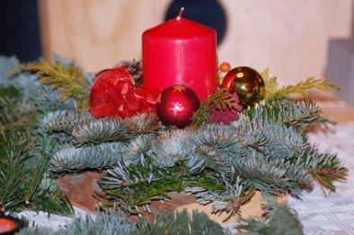 Adventsbasteln im Rittergut Kleingera am 19.11.2012