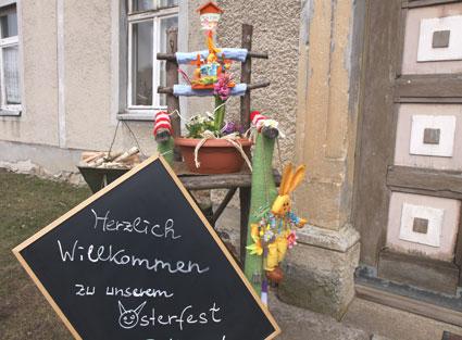 Osterfest im Rittergut am 30.03.2013