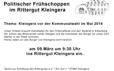 Politischer Frühschoppen 09.03.2014