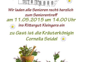 Seniorentreff am 11.05.2015
