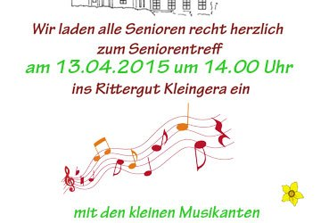 Seniorentreff am 13.04.2015