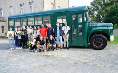 Projekttag TRIAS Oberschule Elsterberg im Rittergut Kleingera am 10. September 2021