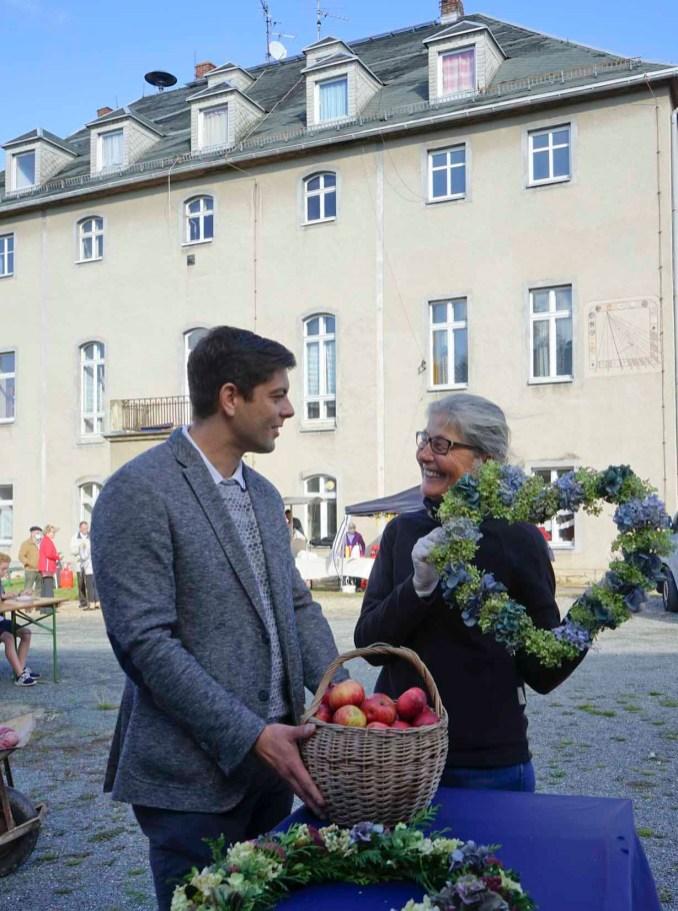 Apfelfest für Jung und Alt im Rittergut Kleingera 2020