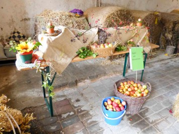 Apfelfest im Rittergut Kleingera am 21.10.2017