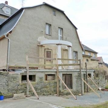 Durchgeführte Erhaltungsmaßnahmen am Herrenhaus Rittergut Kleingera 2017 19
