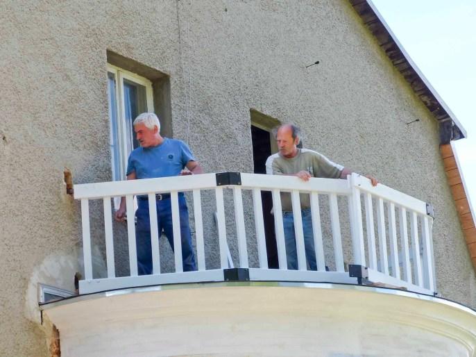 Durchgeführte Erhaltungsmaßnahmen am Herrenhaus Rittergut Kleingera 2017 29