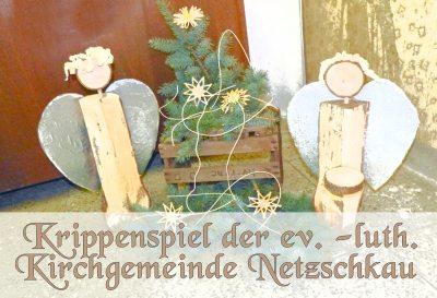 Krippenspiel der ev. -luth. Kirchgemeinde Netzschkau 14.12.2018 um 16.30