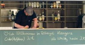 Whisky Verkostung am 12.05.2018 im Rittergut Kleingera