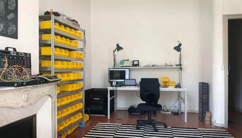 Ritual Electronics office