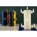 velas de siete mechas