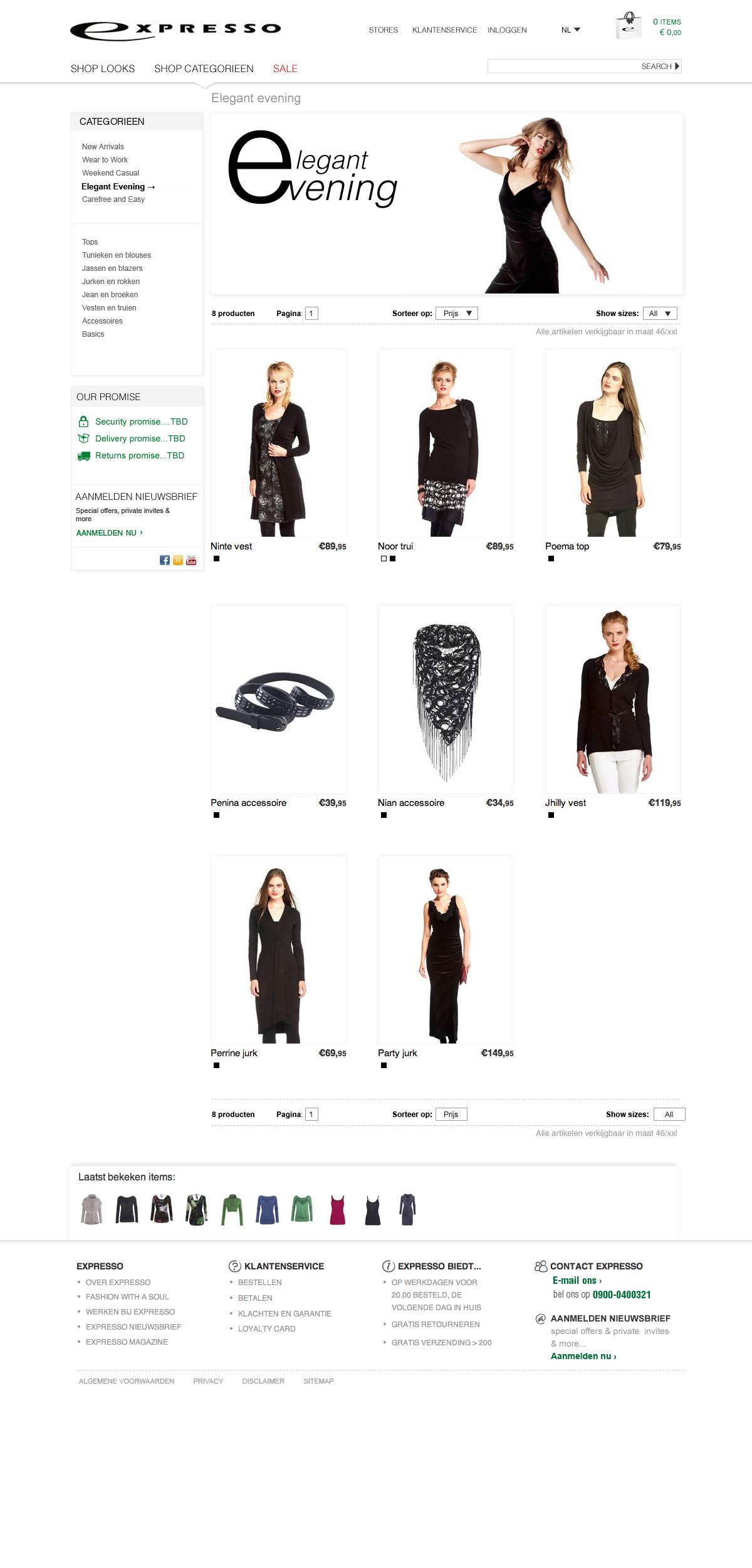 Expresso, Fashion Brand (Europe)