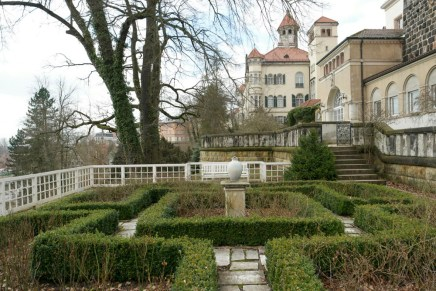 Lustgarten am Schloss