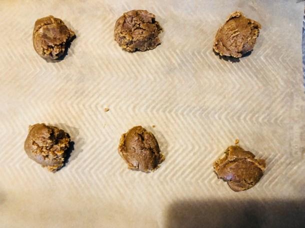Peanut Butter Dough Balls