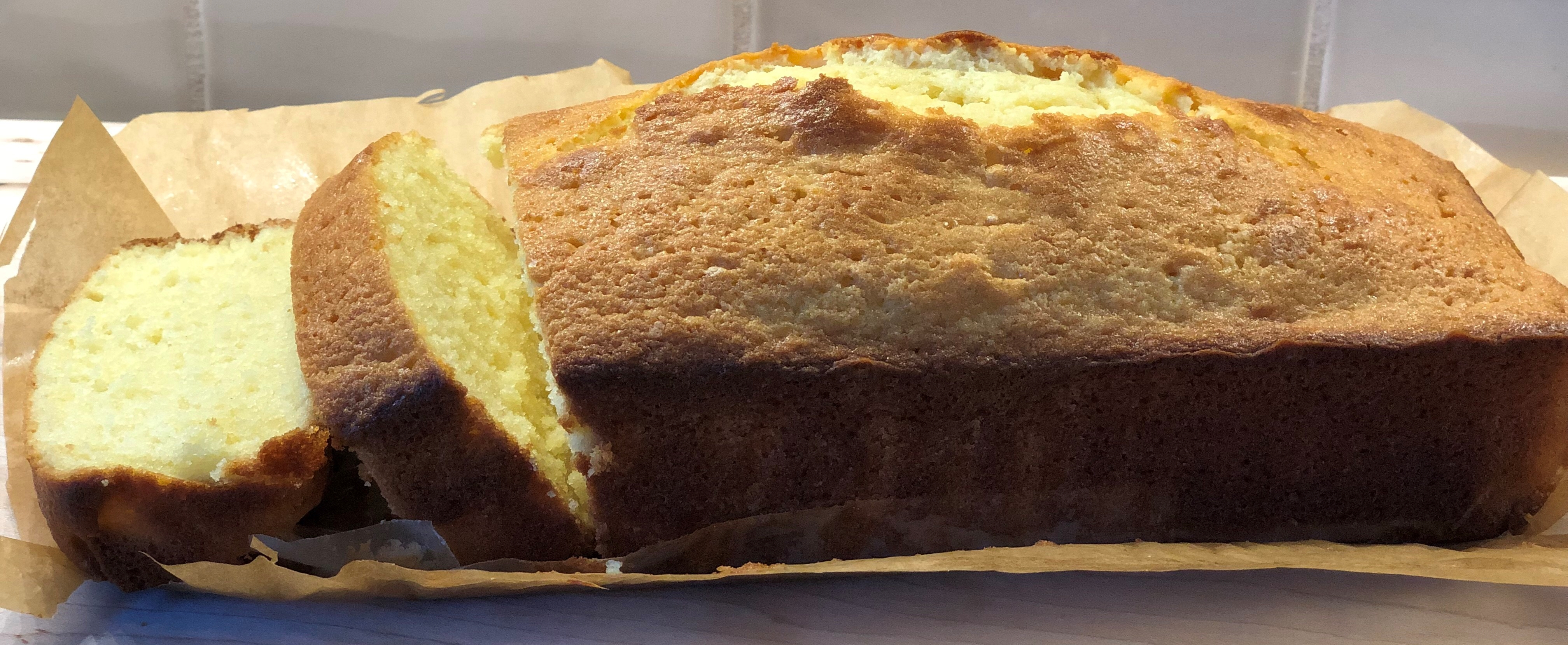 All butter pound cake from Sri Lanka