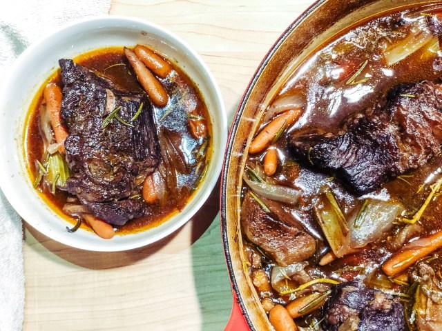 Red Wine Braised Pot Roast FAST