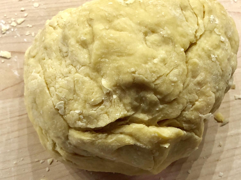 Rest pasta dough for 30 minutes