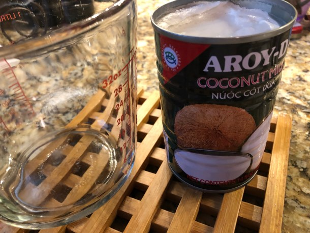 Authentic coconut milk