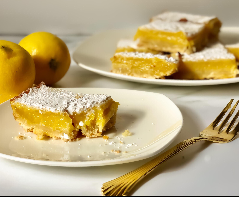 Zesty Lemon Bars Recipe