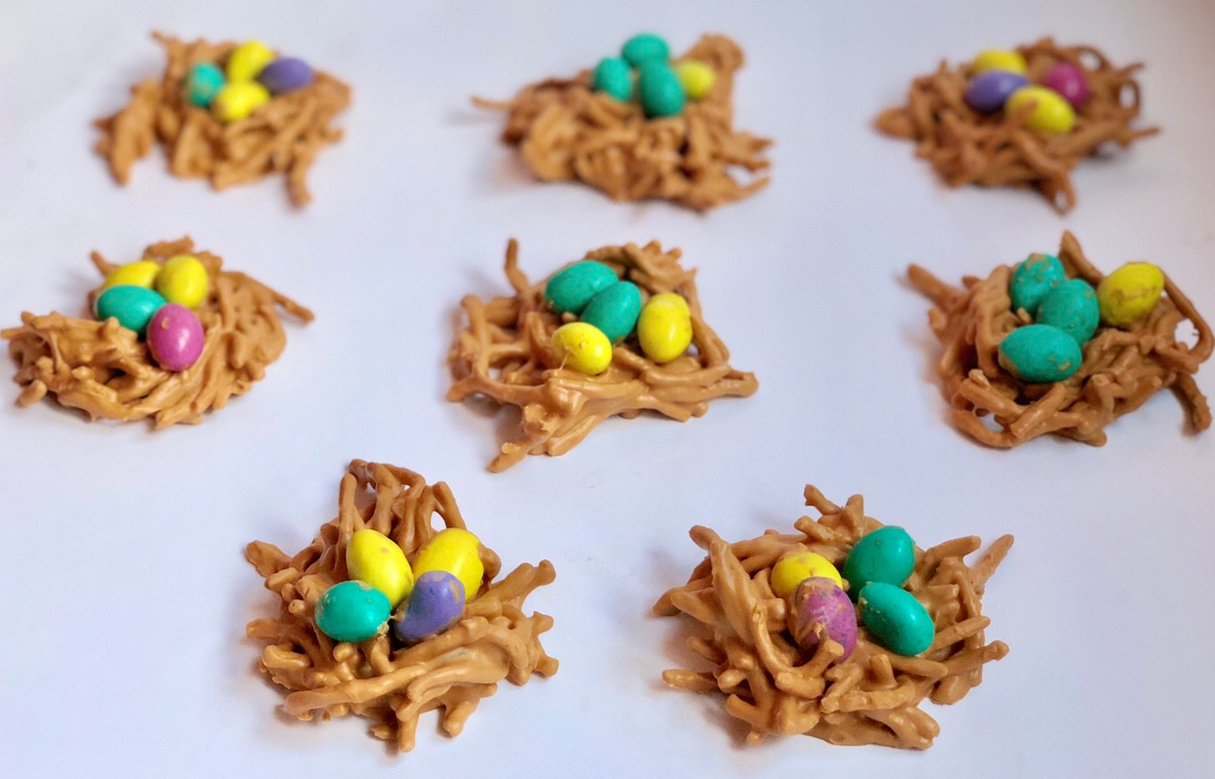 Butterscotch Birds Nests