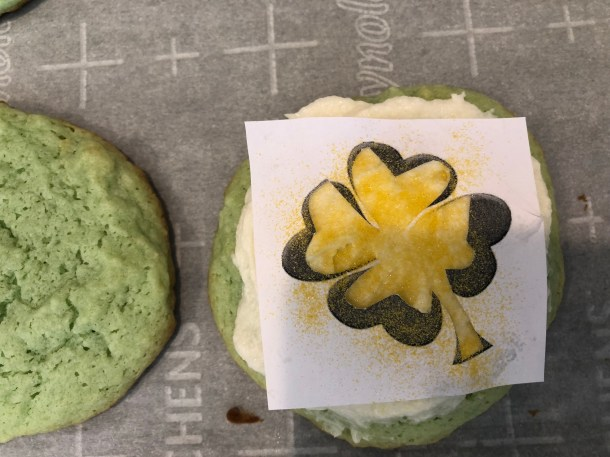 Four leaf Clover cookie