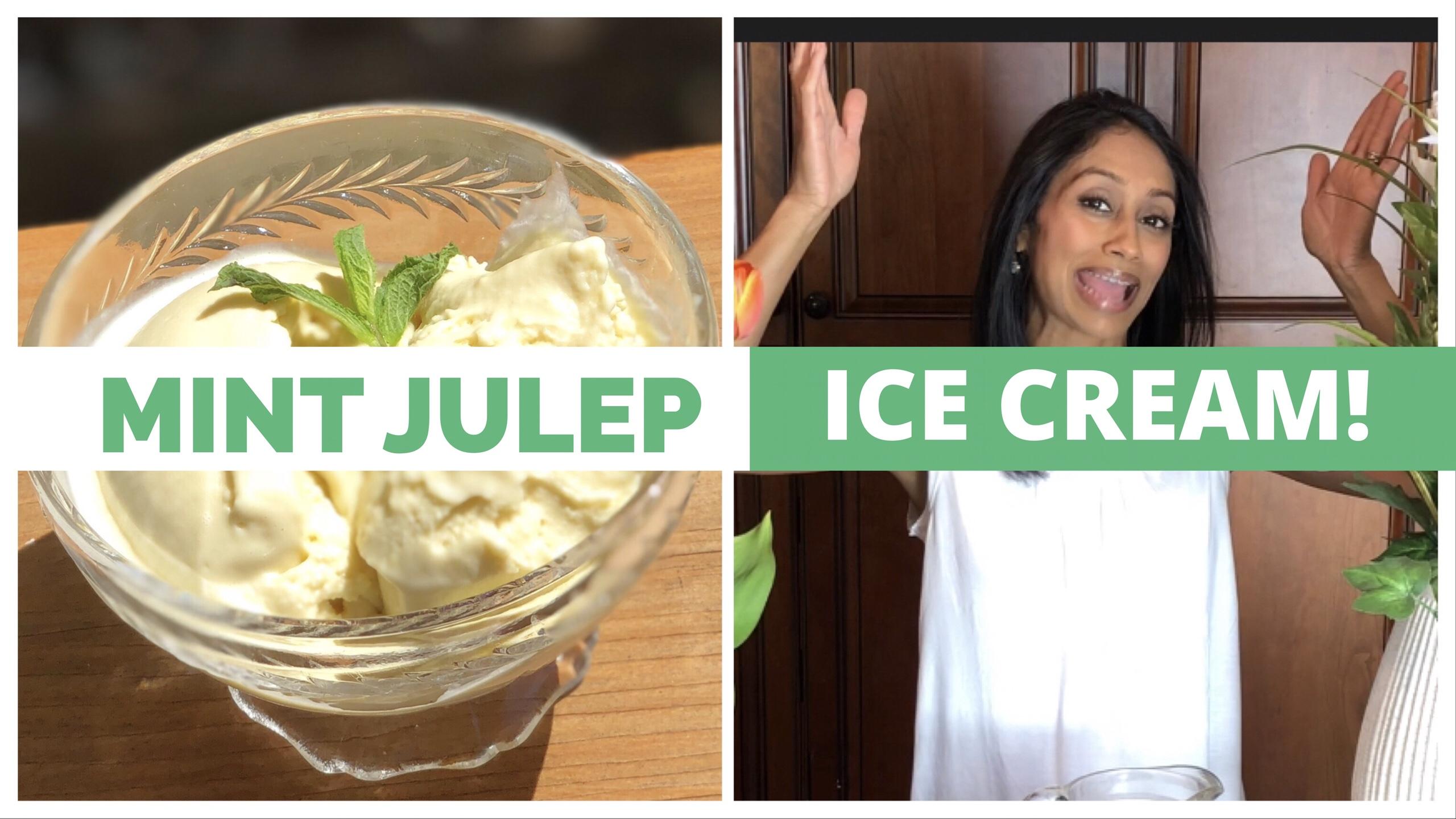 Mint Julep Ice Cream Recipe
