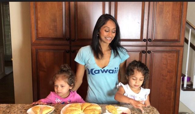 Baking Scones with Kids