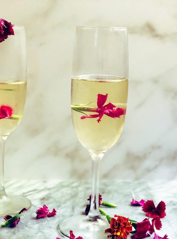 champagne dessert recipe