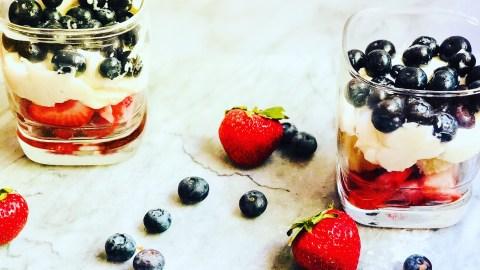 Layered Berry Cheesecake Dessert