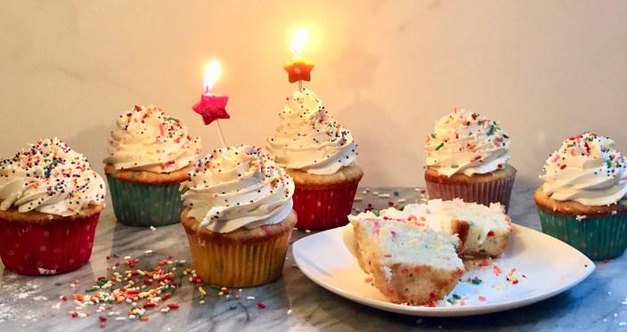 Funfetti Cupcakes
