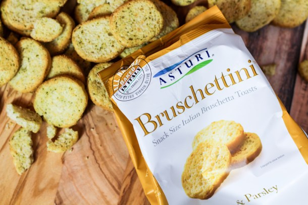 Garlic & Parsley Bruschettini by Asturi Foods