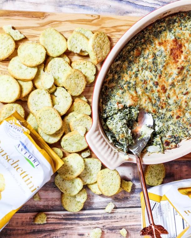 Creamy Spinach Kale Dip