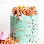 Speckled Easter Malted Cake