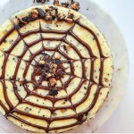Halloween Candy Cheesecake