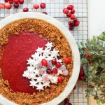 Cranberry Pie With Hazelnut Cookie Crust