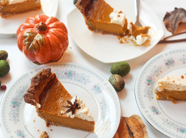 blonde chocolate pumpkin pie