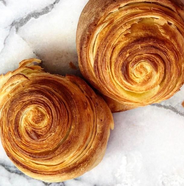 flaky brioche pastry