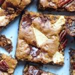 chocolate oatmeal crackle bars