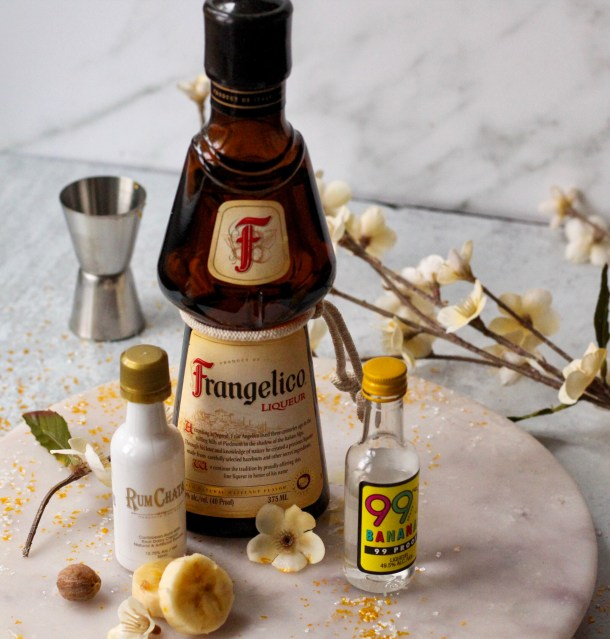 banana bread martini ingredients