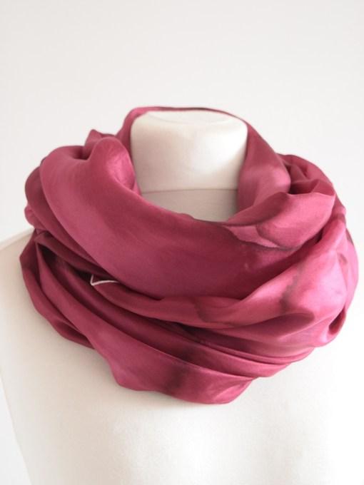 Marsala Silk Scarf