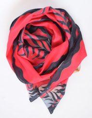 Red Black Gatsby Scarf