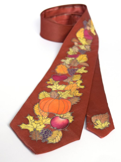 Dapper Leaves silk Tie
