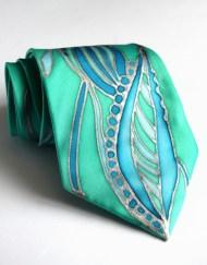 Emerald Seas Necktie baubles