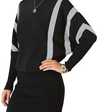 BerryGo Women's Sexy Off Shoulder Bodycon Knit Sweater Dress