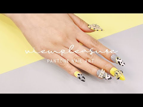 View Enlarged Live-How to do Songchi Nail Art with Pantone Color 2021/2021 How to do Songchi Nail Art with Pantone Color