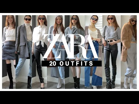 [ENG SUB] 20 kinds of Zarahowl lookbook_ I tried styling the clothes introduced during Labang~ |  Zara Try on Haul 2021_Styling 20 Outfit ideas