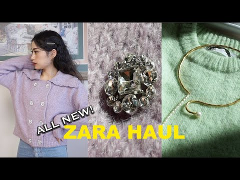 (ENG)#Zara's new little howl/when is spring coming…?/ ZARA HAUL/Lilac